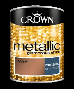 Боя за акцент Crown Metallic 1.25l Copper