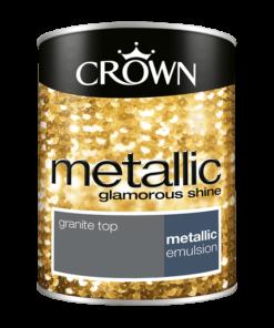 Боя за акцент Crown Metallic 1.25l Granite Top