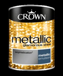 Боя за акцент Crown Metallic 1.25l Sophistication