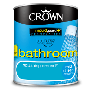 Боя за баня Crown Bathroom 1l Splashing around