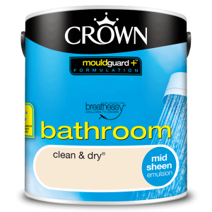Боя за баня Crown Bathroom 2.5l Clean and dry