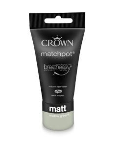 тестер почистваща се боя Crown Hall and stairs 40 ml mellow green
