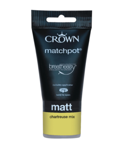 Тестер боя за акцент Crown Feature Wall 40 ml Chartreuse Mix
