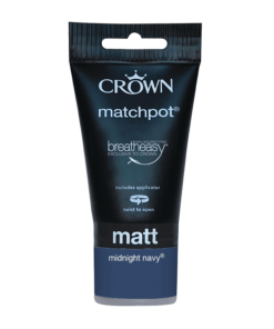 Тестер боя за акцент Crown Feature Wall 40 ml Midnight navy
