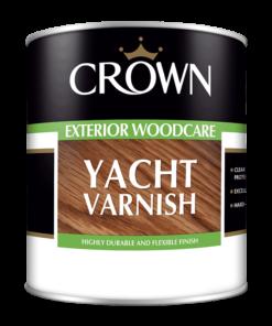 Лак за дърво Crown Trade Yacht 1l
