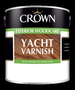 Лак за дърво Crown Trade Yacht 2.5l