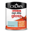 Wood and metal paint crown solo gloss bril white 2 5 b - Crown exterior wood paint colours ...