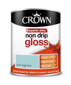 боя за дърво и метал Crown Non drip Duck egg Blue 0.750